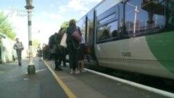 Британские железнодорожники начали пятидневную забастовку