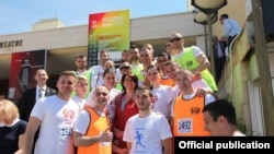 Gjysmëmaratona në Prishtinë