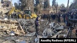 Az azeri Gandzsát ért támadásban többen életüket vesztették, több tucatnyian megsebesültek