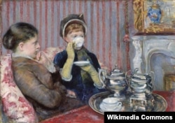 Чай, Мэри Кэссетт, 1880 год