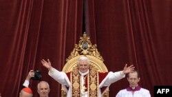 Рим папасы Бенедикт-XVI, 25-декабрь, 2008-ж.