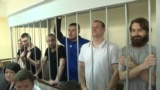 Moscow Court Extends Detention For Captured Ukrainian Sailors video grab