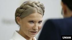 Глава «Батьківщини» Юлия Тимошенко