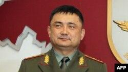 Қырғызстан қорғаныс министрі, ҰҚШҰ төрағасы Талайбек Өмірәлиев.