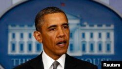 A false report claimed U.S. President Barack Obama had been injured in an explosion.