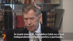 """Vaclav Havel: """"Nostalgia trebuie să ia sfîrșit în Rusia"""""""