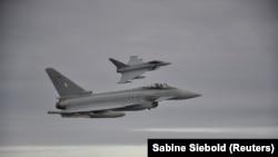 Истребители Eurofighter Typhoon ВВС Германии