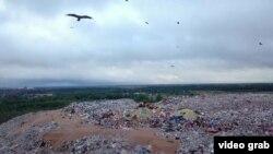 Deponija smeća raste kao planina u Rusiji