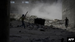 Pamje nga luftimet në qytetin Alepo në Siri
