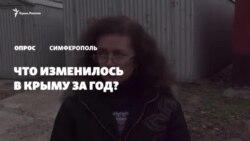 «Цены растут, дорог понаделали»: что изменилось в Крыму за год (видео)