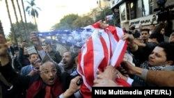 Protestuesit në Kajro...