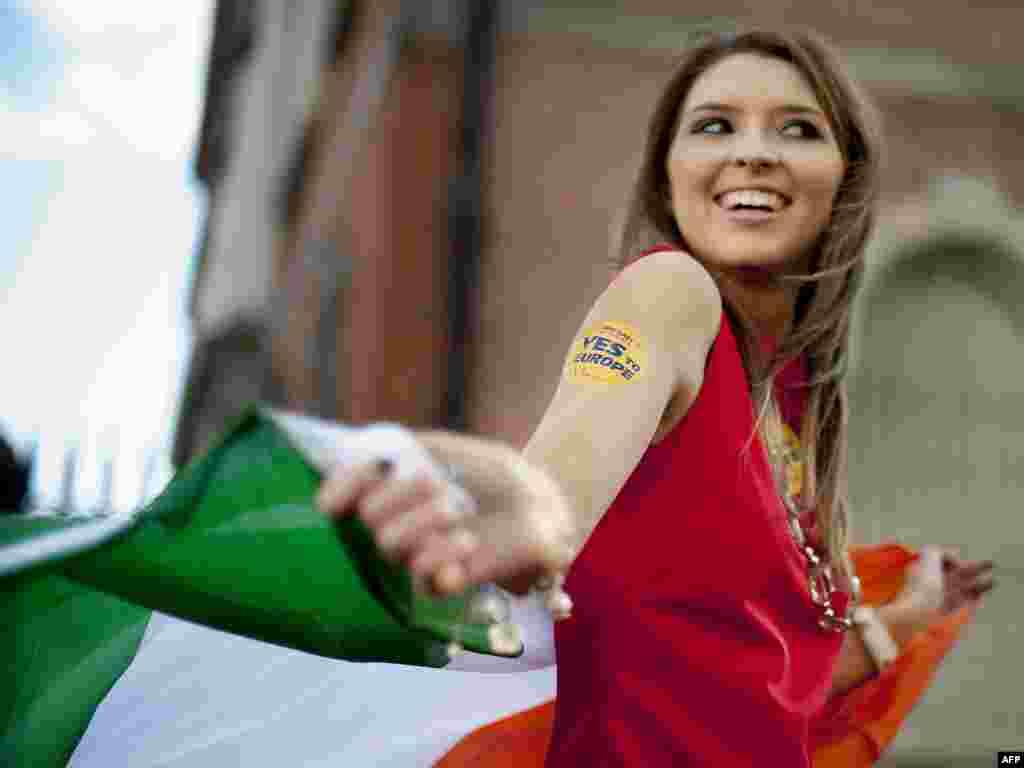 За Лиссабонское соглашение проголосовали 67 процентов ирландцев