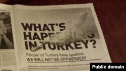 Turkish opposition activists who want the latest news need something faster than the local newspaper.