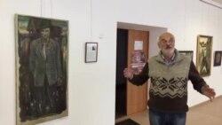 «Да вытокаў»: пэрсанальная выстава жывапісу Аляксея Марачкіна