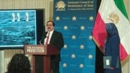 کنفرانس خبری «شورای ملی مقاومت» در واشینگتن در ارتباط با «لویزان ۳»