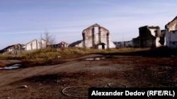 Село Мостовское. Бывший элеватор