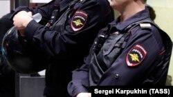 Полицейские, архивное фото
