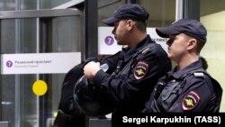 Москва полицияси.