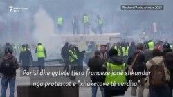 Separatistët pro-rusë përfshihen në protestat e Parisit