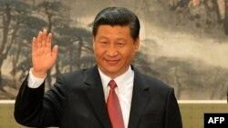 Қытай коммунистік партиясының жетекшісі Си Цзиньпин. Пекин, 15 қараша 2012 жыл.