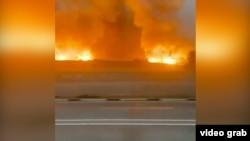 Пожар и взрывы на складе боеприпасов в Жамбылской области. 26 августа 2021 года