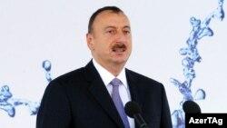 Әзербайжан президенті Ильхам Әлиев. 16 шілде 2012 жыл.
