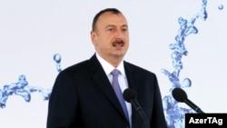 Әзербайжан президенті Ильхам Әлиев. 16 маусым 2012 жыл.