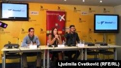 Sa prezentacije dosijea: Bekim Bljakaj, Milica Kostić i Nemanja Stjepanović, Beograd