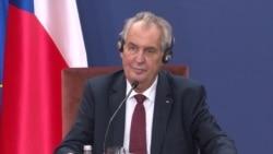 Zeman: Postaviću pitanje priznanja Kosova