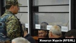 Суд по делу подозреваемых в хищении нефти. Актобе, 20 ноября 2017 года.