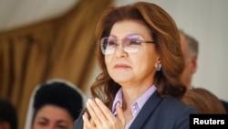 Дариға Назарбаева, Қазақстан президентінің үлкен қызы, парламент сенатының депутаты.