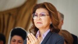 Старшая дочь первого президента Казахстана Дарига Назарбаева. Алматы, 1 мая 2016 года.