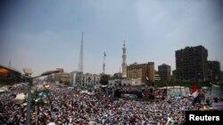 Каїр, 12 липня 2013 року. Прихильники усуненого президента Мурсі зібрались на акцію протесту