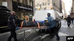 Нью-Йоркте болған атыстан кейінгі көрініс. 9 қараша 2015 жыл (Көрнекі сурет).