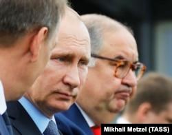 Путин и Алишер Усманов