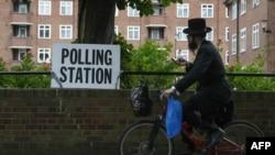 په لندن کې د رأی ورکونې یو مرکز