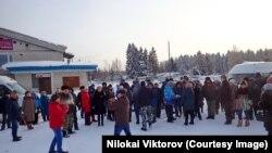 Урдома, протесты против московского мусора