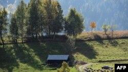 Pamje nga fshati Bogë