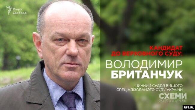 Володимир Британчук, кандидат до нового Верховного суду, чинний суддя Вищого спеціалізованого суду України