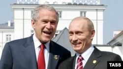 جورج بوش، و ولاديمير پوتين گفت و گو های خود را درباره سپر موشکی سازنده خواندند