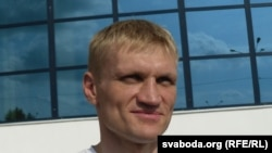 Syarhey Kavalenka said he was on a hunger strike for the last nine days of his jail term.