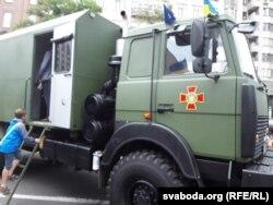 МАЗ на службі в Національній гвардії України