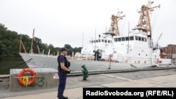 Катера «Айленд» для украинских ВМС, порт Балтимор, США
