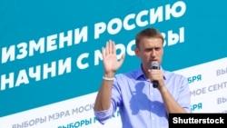 Олексій Навальний. Москва, 3 серпня 2013 року