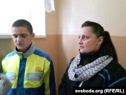 Натальля Варанкова і яе сын Цімафей