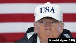 Američki predsjednik Donald Trump tokom posjeta Puerto Ricu