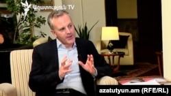 Представитель Азиатского банка развития (АБР) в Армении Шейн Розенталь, 24 сентября 2017 г․