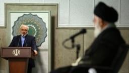 دیدار ظریف و دیپلماتهای ایرانی با آیتالله خامنهای در مرداد ۹۳