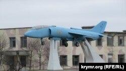 Історичний палубний штурмовик вертикального злету Як -36 у Новофедорівці