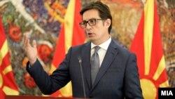 Presidenti i Maqedonisë së Veriut, Stevo Pendarovski .